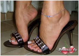 high heeled princess