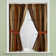round window curtains