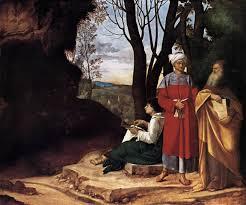 giorgione three philosophers