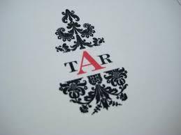 damask monogram