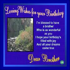 birthday wish to brother