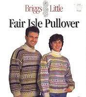 fair isle pullover