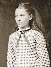 Laura as a young girl