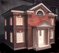 brick dog house