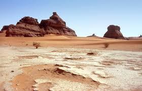 Sahara desert landscapes