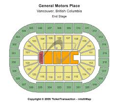 general motors place seating chart