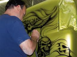 custom airbrush paint