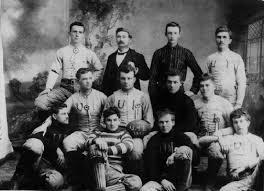 first football match