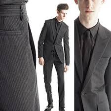 grey pinstripe suits