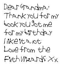 kids handwriting font
