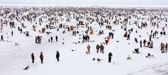 ice fishing minnesota