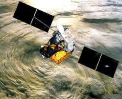 imagen via satelite