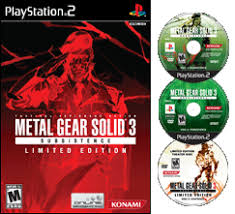 metal gear solid 3 limited edition