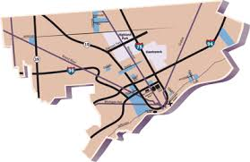 city of detroit map