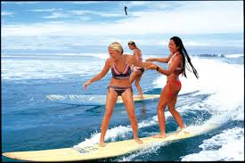 girls surfboard