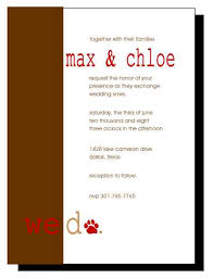 brown and red wedding invitations