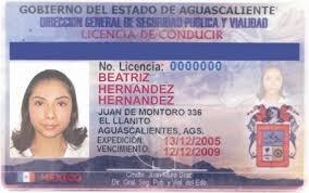 licencias de conducir mexicanas