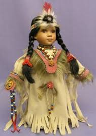 native american indian dolls