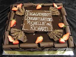 engagement cakes designs