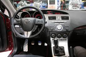 2010 mazdaspeed 3 interior
