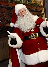 singing santa clause