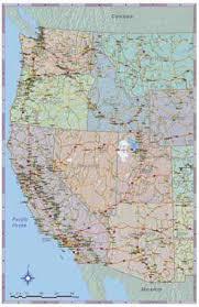 western us maps