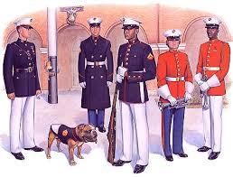dress blues uniforms