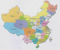 china maps in english