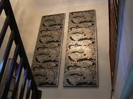 wallpaper panelling