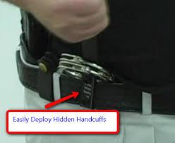 handcuffs holder