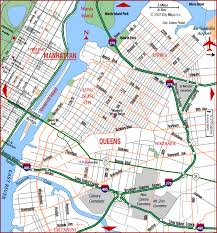 map of queens nyc