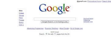 google home page design