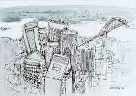 drawing buildings