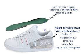 height enhancing insoles