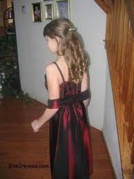 burgundy formal dresses