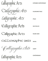 gothic lettering style