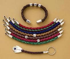 braid leather