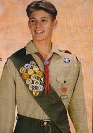 boy scout uniform sash