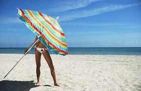 beach sunbathing