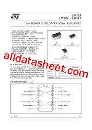 lm324 datasheet