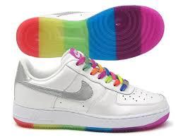 nike rainbow trainers