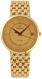 gold omega watches