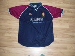 iron maiden soccer shirt