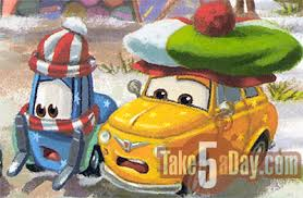 guido and luigi cars