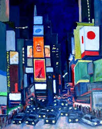 time square painting
