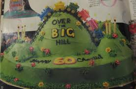 over the hill birthday cake pictures