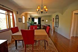 mission style dining rooms