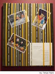 picture board with ribbon