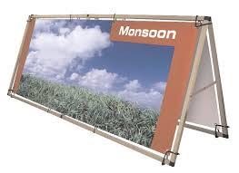 outdoor banner stands
