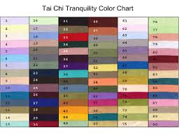 chi color chart